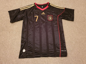 Germany Away Shirt 2010/11 - Schweinsteiger #7