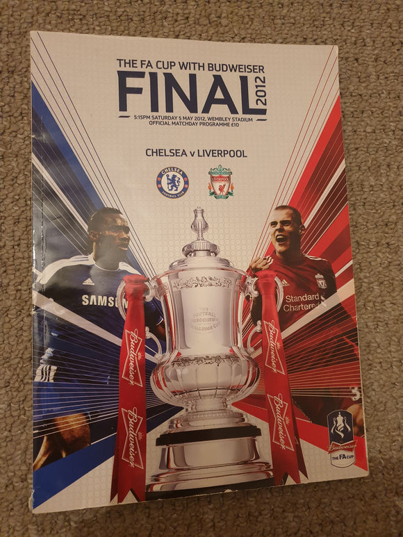 Match Programme - Chelsea vs Liverpool FA Cup Final 2012