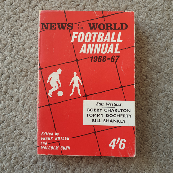 News of The World Football Annual 1966/7