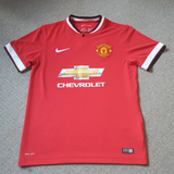 Manchester United Home Shirt 2014/15 Med