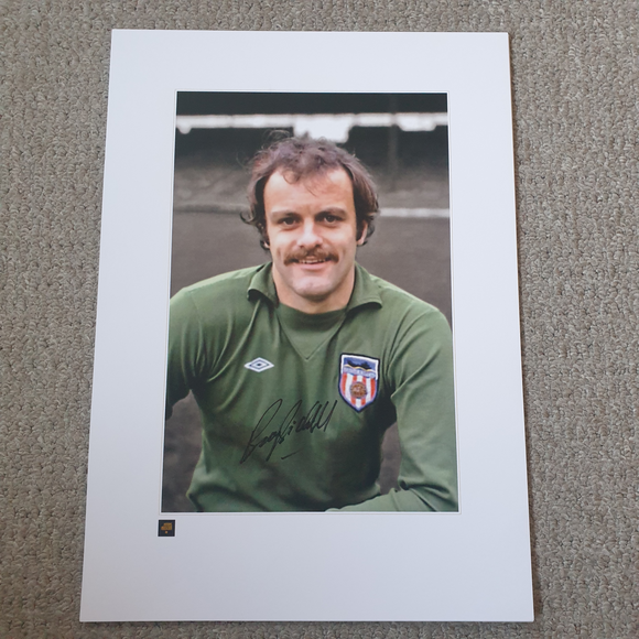 Barry Siddall Sunderland Legend Signed Print