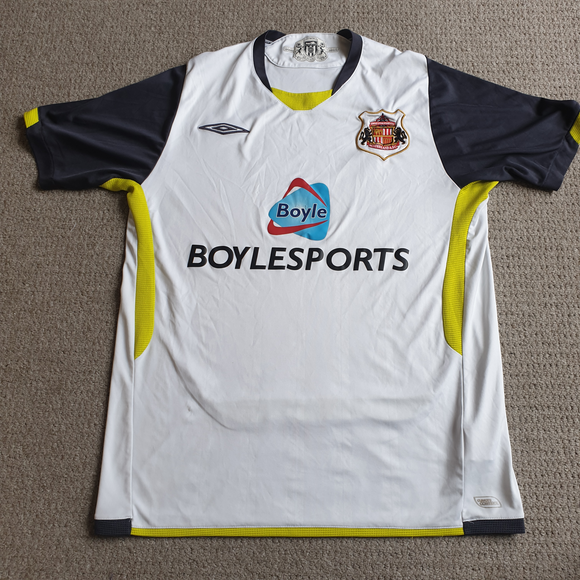 Sunderland Away Shirt 2009/10 L