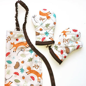 Woodland Apron Set