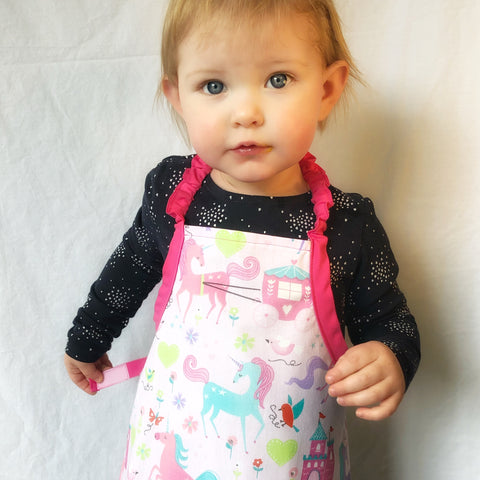 Unicorn Kingdom Apron Set