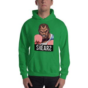 SHEARS Street Fighter Balrog Unisex Hooded Sweatshirt