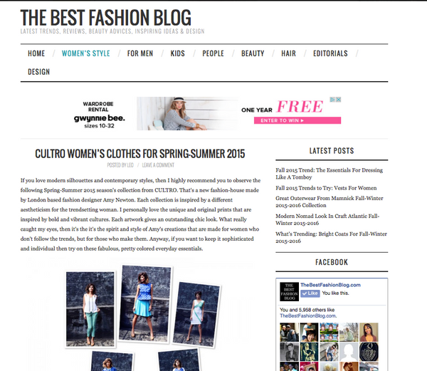 The Best Fashion Blog