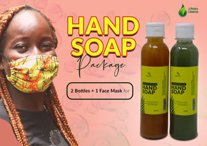 Hand Wash + Facial Mask Package