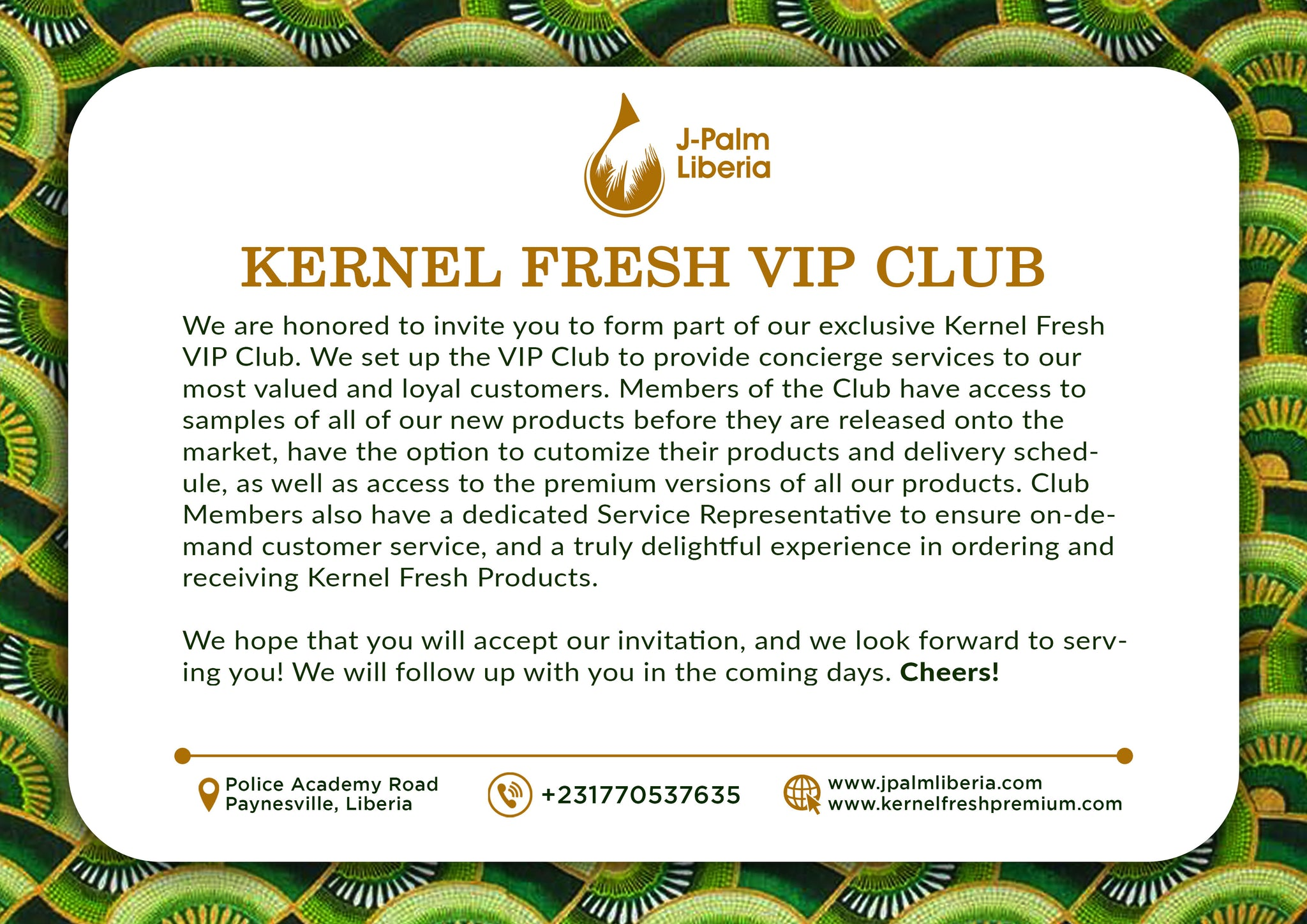 Kernel Fresh VIP Club Kit