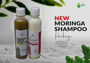 Moringa Shampoo & Conditioner Set