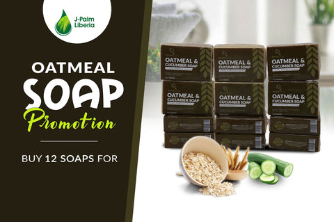 Oatmeal & Cucumber Soap Promotion