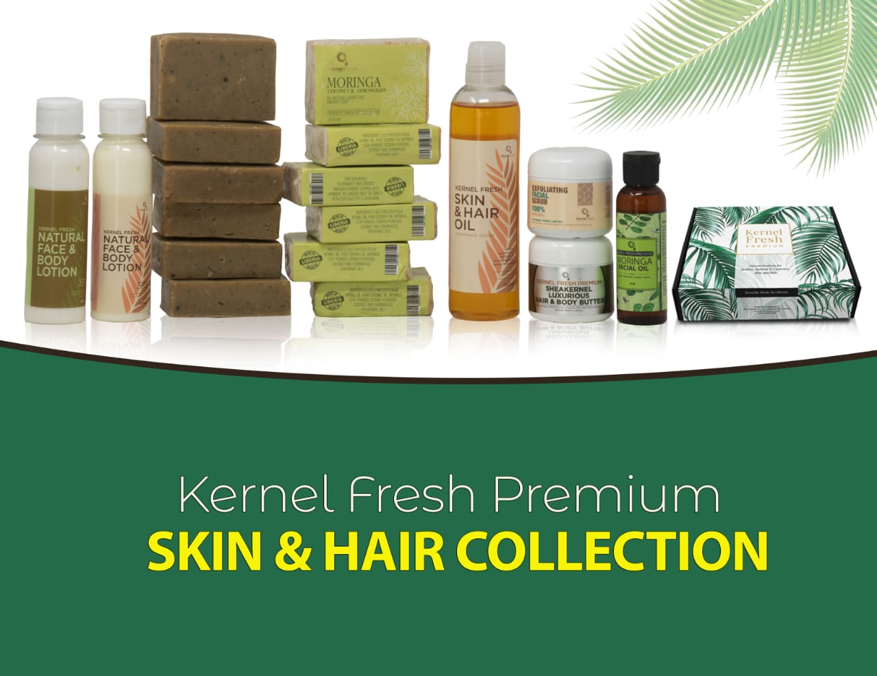 Kernel Fresh Premium Skin & Hair Collection