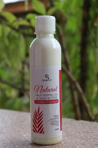 Natural Shea Butter & Palm Kernel Oil Conditioner (Leave-In & Wash Out)