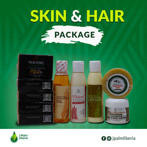 Kernel Fresh Skin & Hair Care Package
