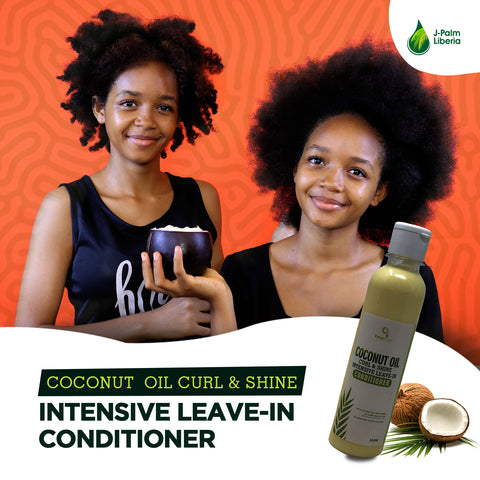 Coconut Oil Curl & Shine Intensive Leave-In Conditioner
