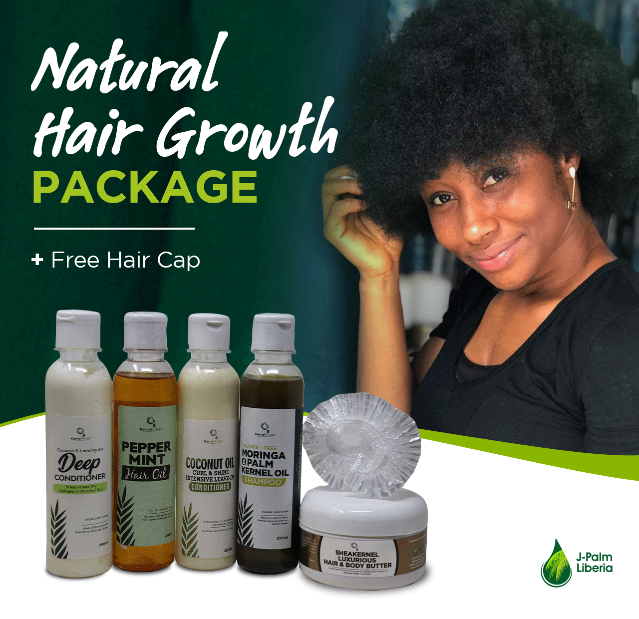 Kernel Fresh Premium Hair Growth Package