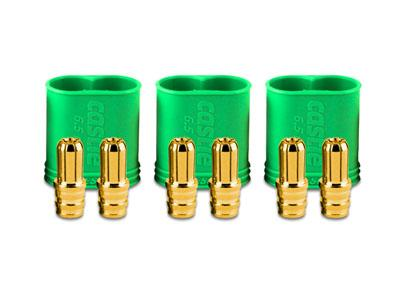 Castle Creation 6.5mm Polarized Connectors (Male Multi-Pack)