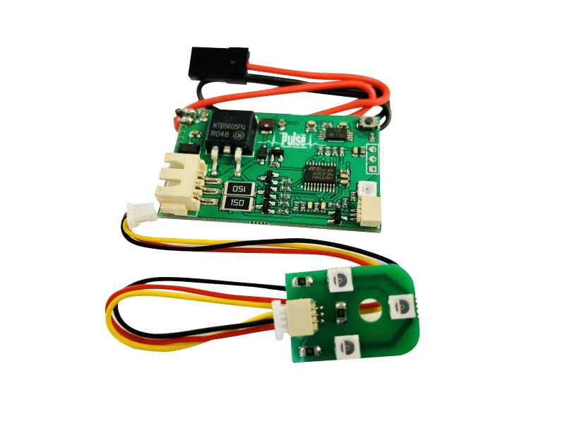 Pulse Ultra Defender LiPo Back Up System - Control Board w/ External LED & LiPo