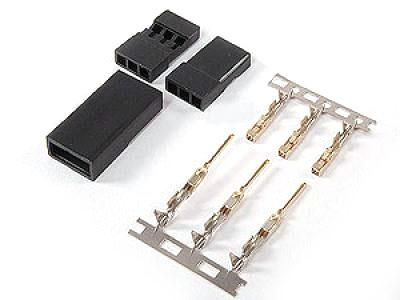 Servo Terminals (JR) Gold Plated