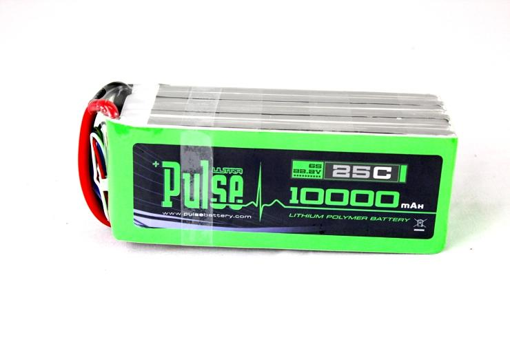 PULSE 10000mAh 6S 22.2V 25C - Multi Rotors - LiPo Battery