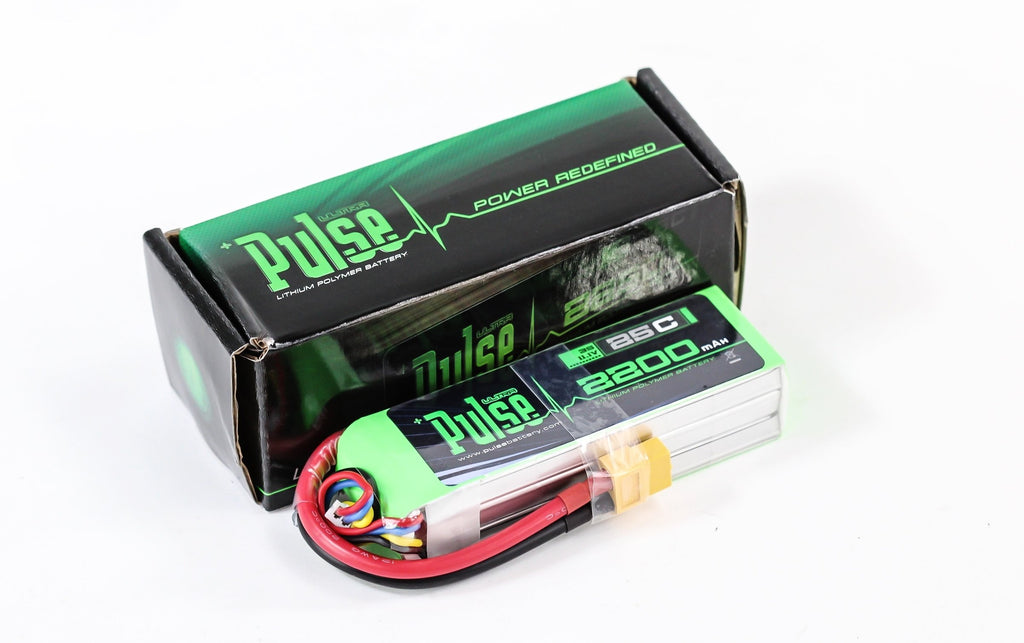 PULSE 2200mAh 3S 11.1V 25C LiPo Battery