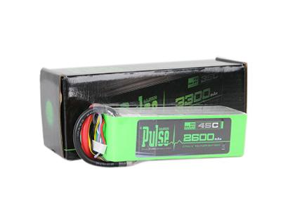 PULSE 2600mAh 6S 22.2V 45C - LiPo Battery