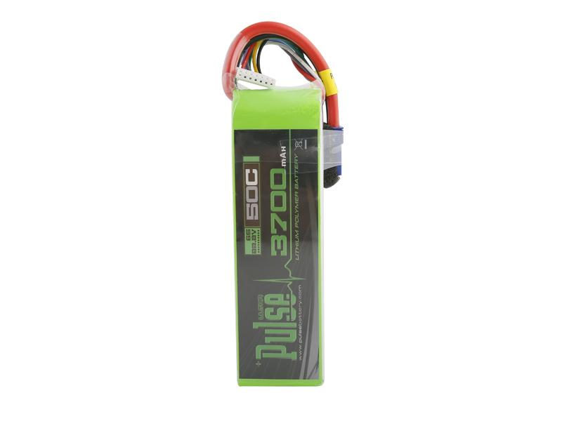 PULSE 3700mAh 50C 22.2V 6S LiPo Battery - EC5 Connector