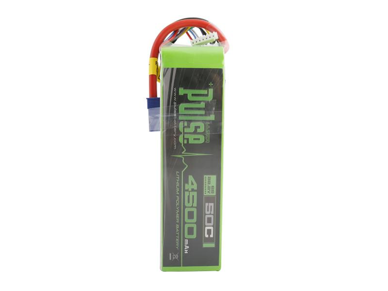 PULSE 4500mah 50C 22.2V 6S LiPo Battery - EC5 Connector