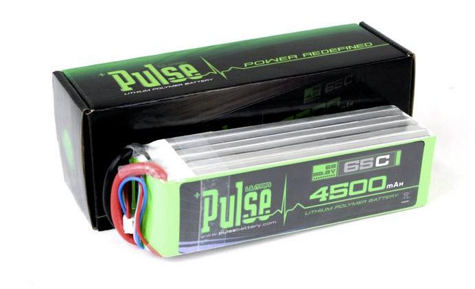 PULSE 4500mAh 6S 22.2V 65C - LiPo Battery