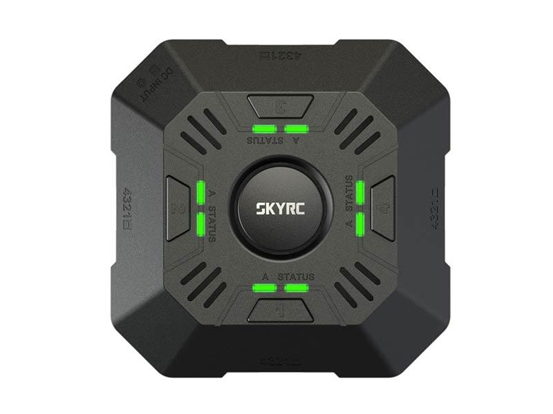 SkyRC E4Q 4x50W 4x5A DC 2-4S LED Smart Battery Balance Charger
