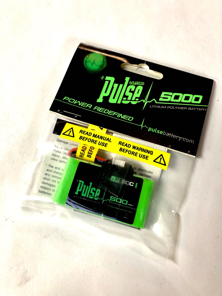Pulse 500mah 20C 7.4V 2S LiPo Battery For Defender