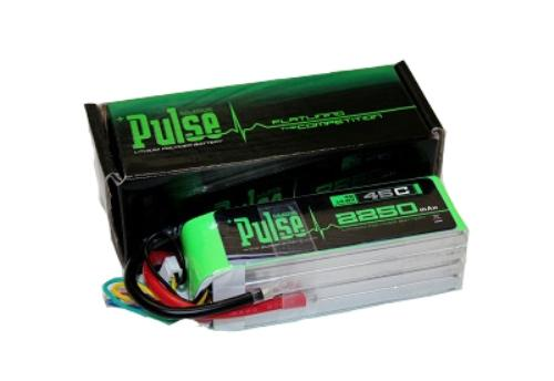 PULSE 2250mAh 4S 14.8V 45C - LiPo Battery - No Plug