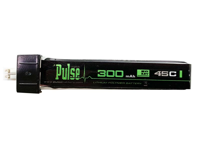 PULSE 300mAh 1S 3.8V 45C HV LiPo Battery with PH2 connector
