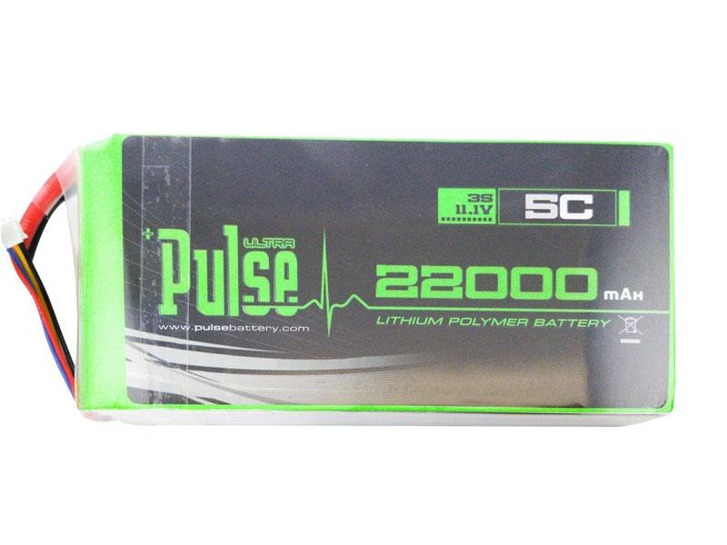 PULSE 3S 22000mAh 11.1V 5C Charging Power Bank - Not Designed for Flight