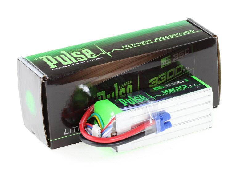 PULSE 1800mAh 6S 22.2V 65C - LiPo Battery
