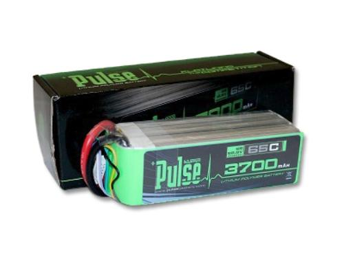 PULSE 3700mAh 6S 22.2V 65C - LiPo Battery