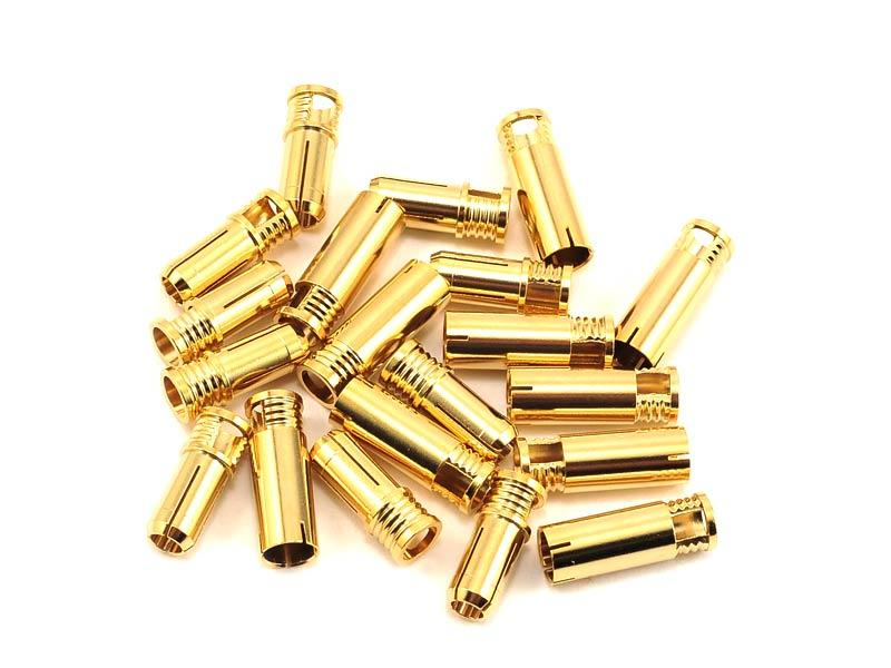 RCPROPLUS 6mm Bullet Connector - 10 Sets (8-10AWG)