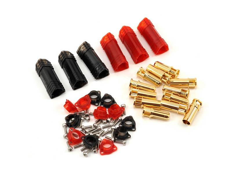 RCPROPLUS Pro-X6 Supra X Battery Connector - 6 Set (8-10AWG)