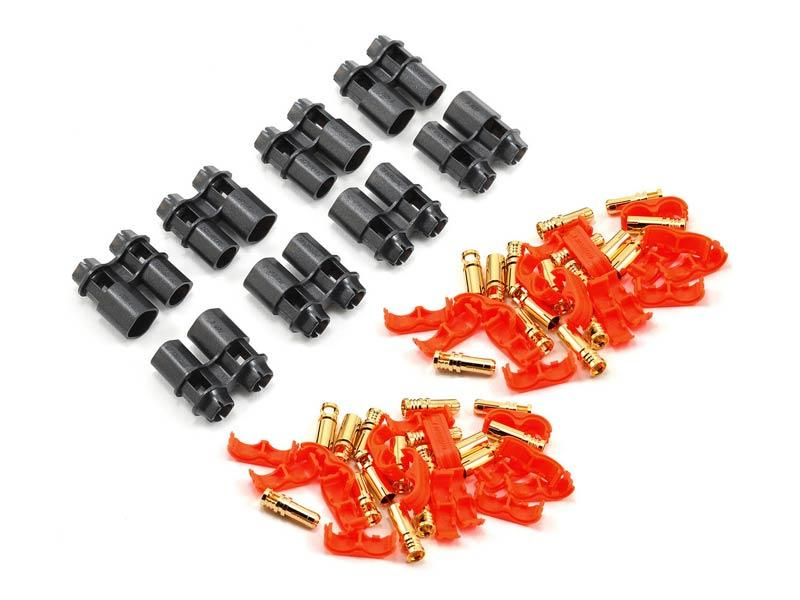 RCPROPLUS Pro-D6 Supra X Battery Connector - 4 Sets (8-10AWG)