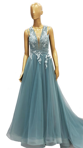 Acqua Tulle Dress