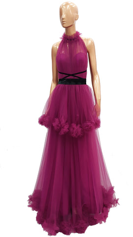 Halter Tulle Dress