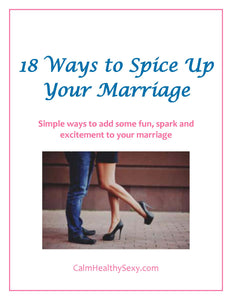 18 Ways to Spice Up Your Marriage