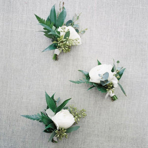 wedding boutonniere wedding flowers event flowers vancouver olfco our little flower company