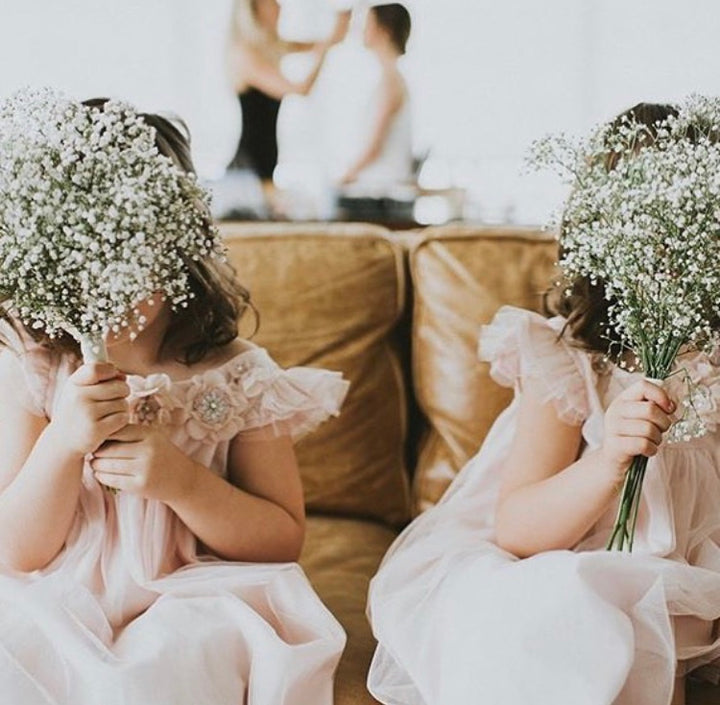 Flower Girl Bouquet & Petals