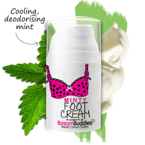 Bosom Buddies Minty Foot Cream | 50ml