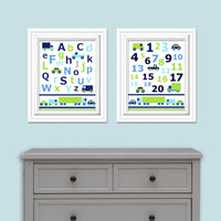 car nursery prints
