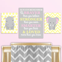 baby girl pink and yellow jungle baby decor
