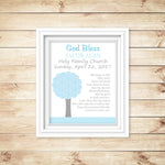 baptism poem, gift for a baby boy