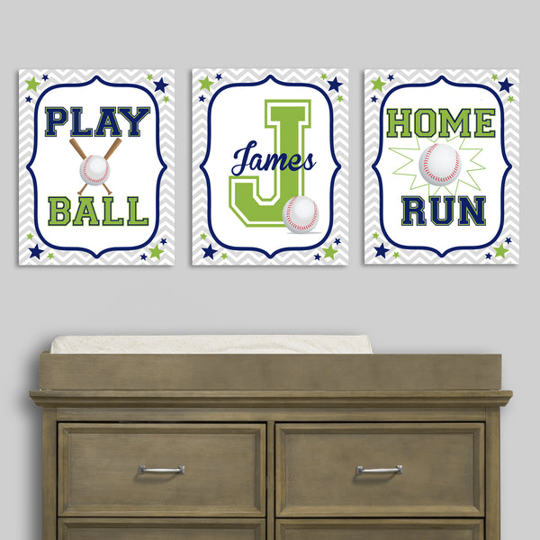 boy's baseball prints