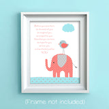 before you were born nursery art print