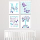 butterfly canvas decor